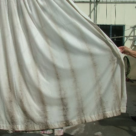 Shower Curtain Mold Cleaning Outside