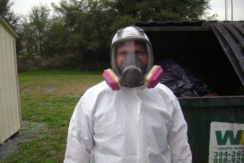 PPE Gear For Mold Removal