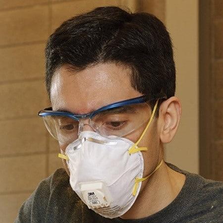 Respirator N95 Mask For Mold Protection