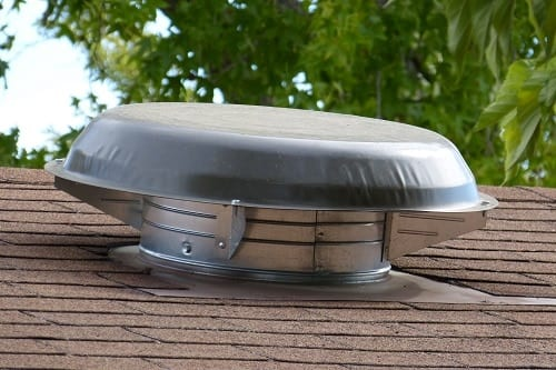 Roof Vent Air Flow