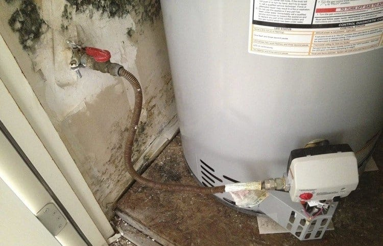 Burst Water Heater Mold