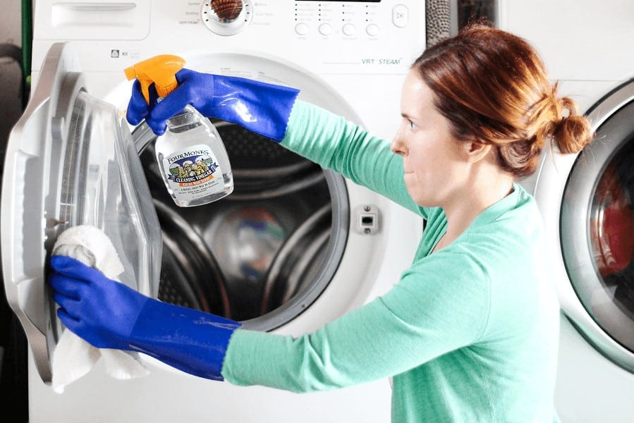 How to get rid of mold from your front load washer