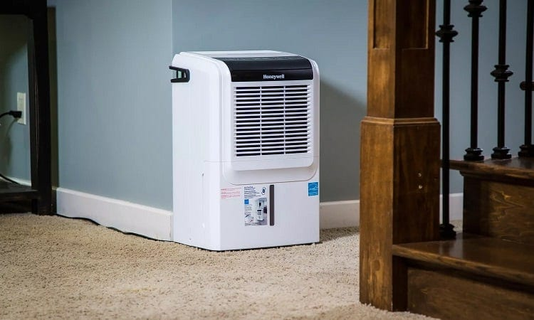 size of a dehumidifier